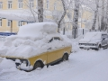 The winter in Siberia is severe and long-term